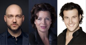 Lioba Braun, Attilio Glaser und Thomas Tatzl am Teatro alla Scala